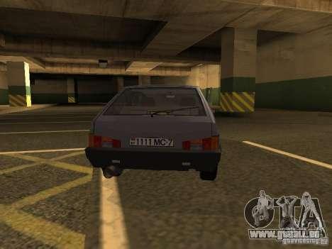 VAZ 2108 für GTA San Andreas rechten Ansicht