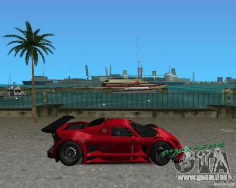 Gumpert Apollo Sport für GTA Vice City linke Ansicht