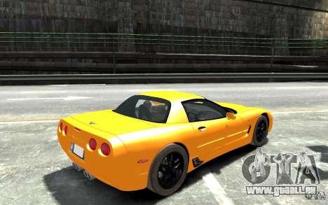 Chevrolet Corvette C5 2005 pour GTA 4 est un droit