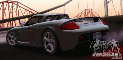 Porsche Carrera GT pour GTA San Andreas vue de droite