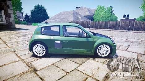 Renault Clio V6 pour GTA 4 est un côté