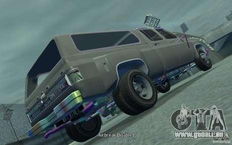 Chevrolet Silverado pour GTA 4 Vue arrière de la gauche
