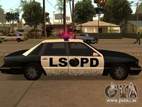 Police Los Santos für GTA San Andreas rechten Ansicht