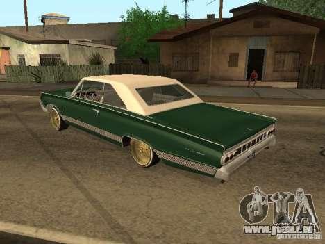 Mercury Park Lane Lowrider pour GTA San Andreas laissé vue