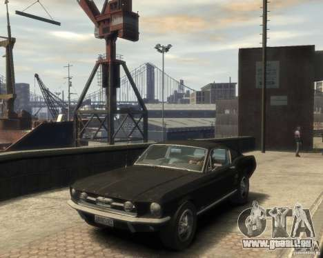 1967 Ford Mustang pour GTA 4