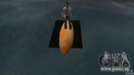 Surfboard 2 pour une vue GTA Vice City de la droite