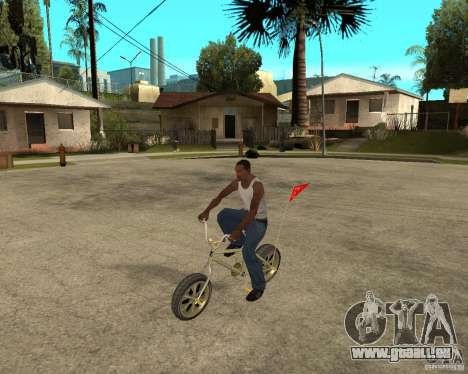 WideWheel-BMX 1 LOUIS VUITTON Version pour GTA San Andreas