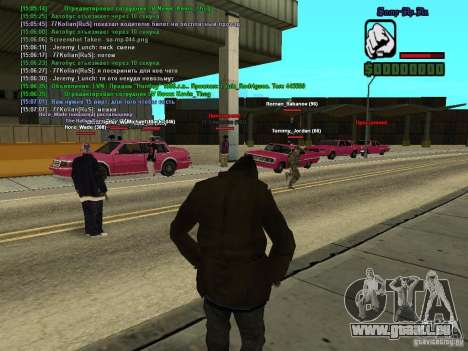 SA:MP 0.3d für GTA San Andreas sechsten Screenshot