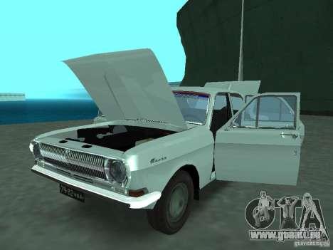 GAZ 24p pour GTA San Andreas vue arrière