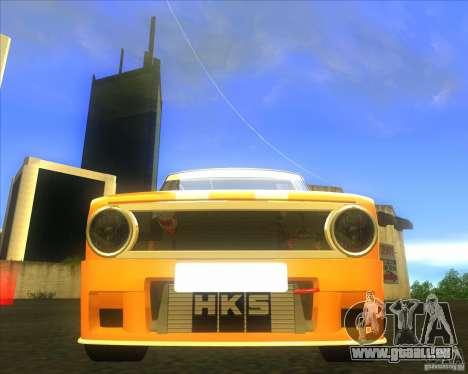 VAZ 2101 explosive voiture tuning pour GTA San Andreas vue arrière