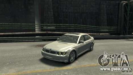 BMW 760I pour GTA 4