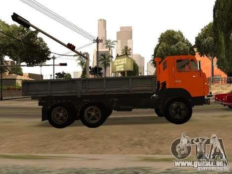 KAMAZ 5320 pour GTA San Andreas laissé vue