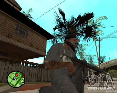 MP5 pour GTA San Andreas