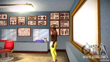 Trois nouveau tatouage pour GTA San Andreas deuxième écran