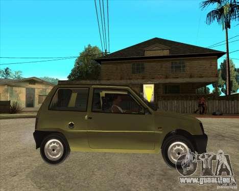 OKA 1111 Kamaz für GTA San Andreas rechten Ansicht