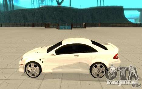 Mercedes-Benz CLK 500 Kompressor für GTA San Andreas linke Ansicht