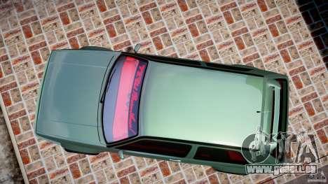 Volkswagen Golf II W8 pour GTA 4 est un droit