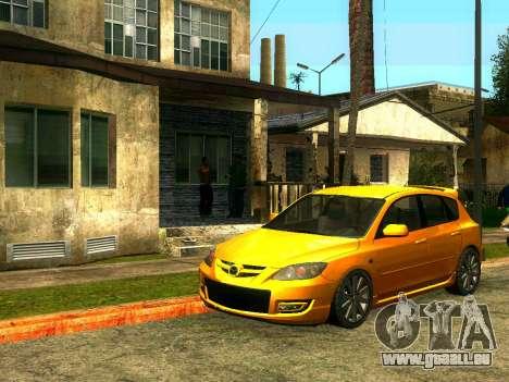CJ's Freunde im Grove für GTA San Andreas zweiten Screenshot
