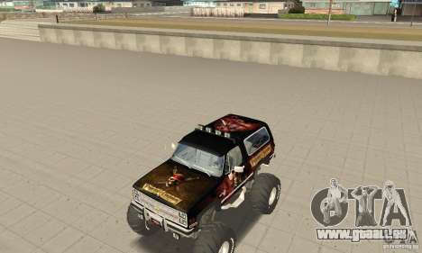 Chevrolet Blazer K5 Monster Skin 4 für GTA San Andreas linke Ansicht