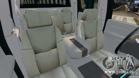 Chevrolet Avalanche 2007 [ELS] pour GTA 4 est une vue de l'intérieur