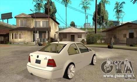 Volkswagen Bora VR6 4MOTION für GTA San Andreas rechten Ansicht