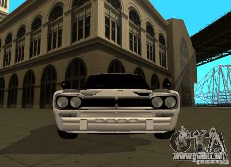 Nissan Skyline 2000 GT-R für GTA San Andreas Innenansicht