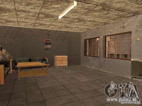 Service de voiture environ Groove v1.5 pour GTA San Andreas troisième écran
