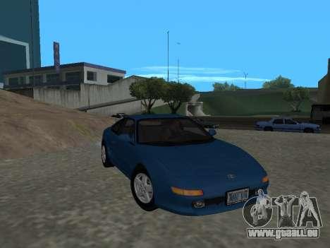 Toyota MR2 GT pour GTA San Andreas vue arrière
