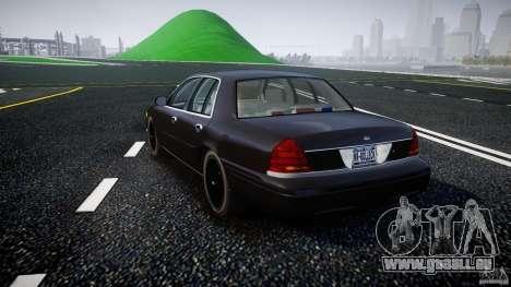 Ford Crown Victoria 2003 v2 FBI für GTA 4 hinten links Ansicht