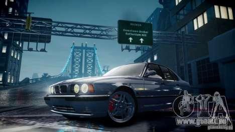 BMW M5 (E34) 1995 v1.0 für GTA 4 Seitenansicht