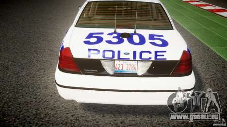 Ford Crown Victoria NYPD [ELS] pour GTA 4 Salon