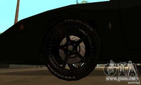 Kits Tuning Sport roue pour GTA San Andreas deuxième écran