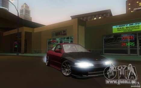 Honda Integra JDM pour GTA San Andreas vue arrière