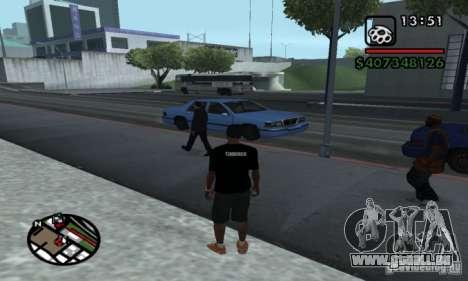 T-shirt codered pour GTA San Andreas deuxième écran
