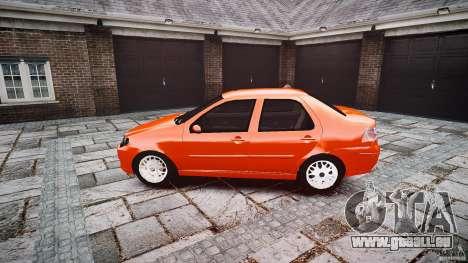 Fiat Albea Sole für GTA 4 linke Ansicht