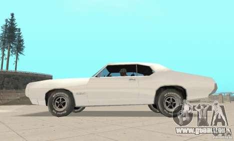 Pontiac GTO 1969 stock für GTA San Andreas rechten Ansicht
