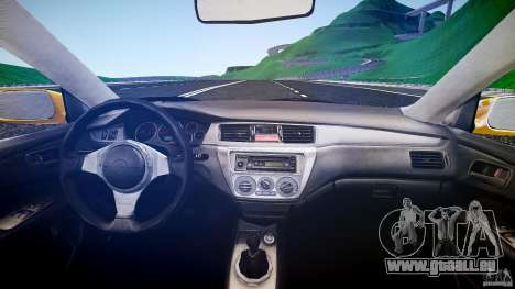 Mitsubishi Lancer Evolution pour GTA 4 est un droit