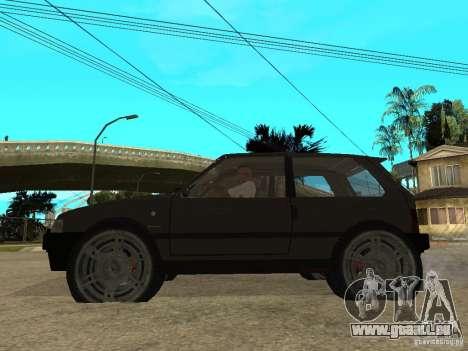 Kia Pride pour GTA San Andreas laissé vue