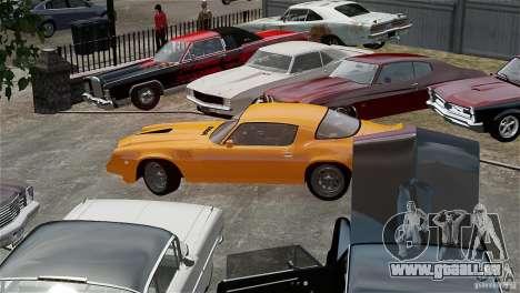 Chevrolet Camaro Z28 1979 pour GTA 4 Vue arrière
