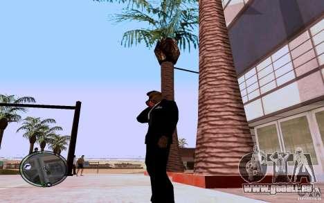 HTC Sensation pour GTA San Andreas deuxième écran