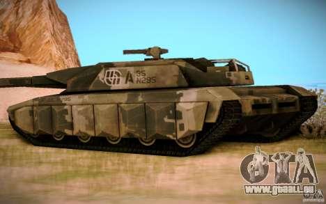 A-8 Tiger pour GTA San Andreas laissé vue