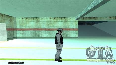 Army Soldier v2 pour GTA San Andreas quatrième écran