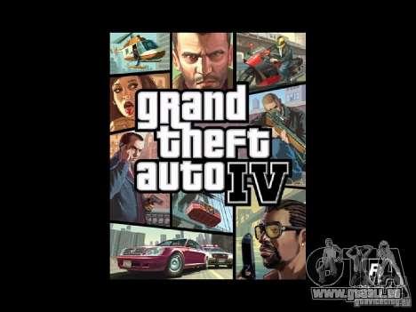 GTA 4-Boot-Bildschirm für GTA San Andreas zweiten Screenshot