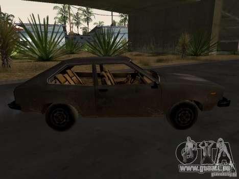 Folie 3 von CoD4 MW v2 für GTA San Andreas rechten Ansicht