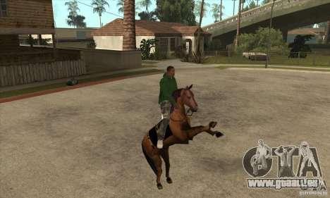 Cheval pour GTA San Andreas quatrième écran
