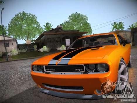 Dodge Challenger SRT8 v1.0 pour GTA San Andreas vue de droite