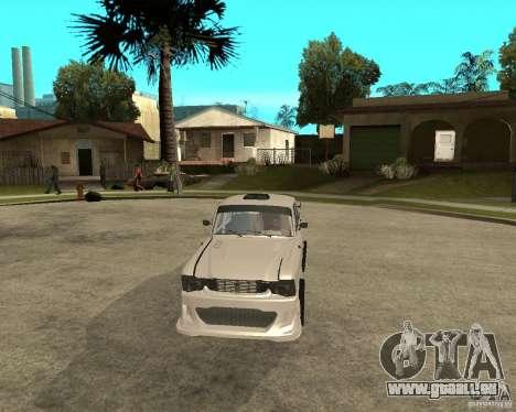 AZLK 412 à l'écoute pour GTA San Andreas vue arrière