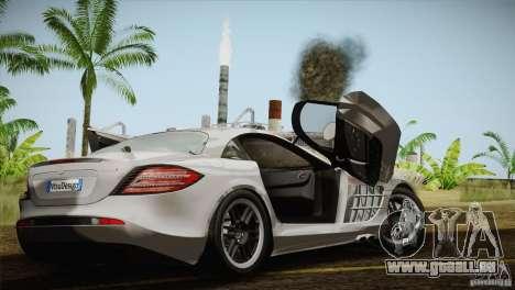 Mercedes SLR McLaren 722 Edition Final für GTA San Andreas Innenansicht