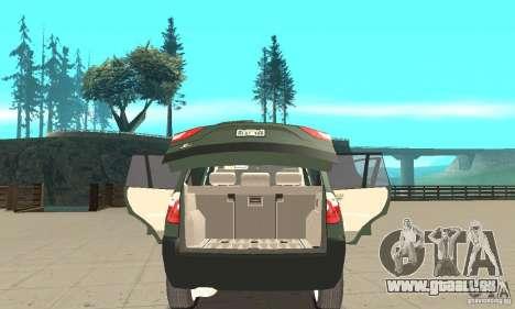 BMW X3 2.5i 2003 pour GTA San Andreas vue de côté