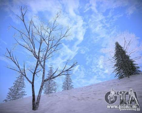 Real Clouds HD pour GTA San Andreas